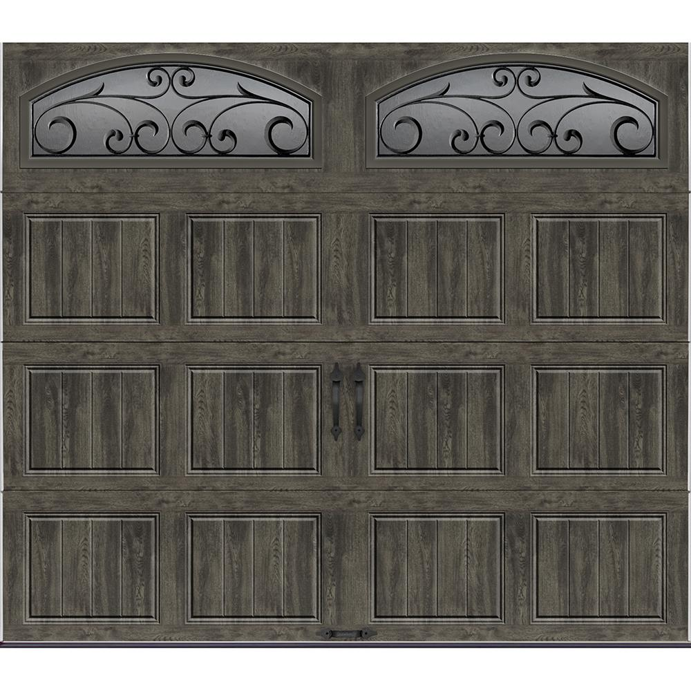 Clopay Gallery Collection 8 ft x 7 ft 184 RValue Intellicore Insulated UltraGrain Medium
