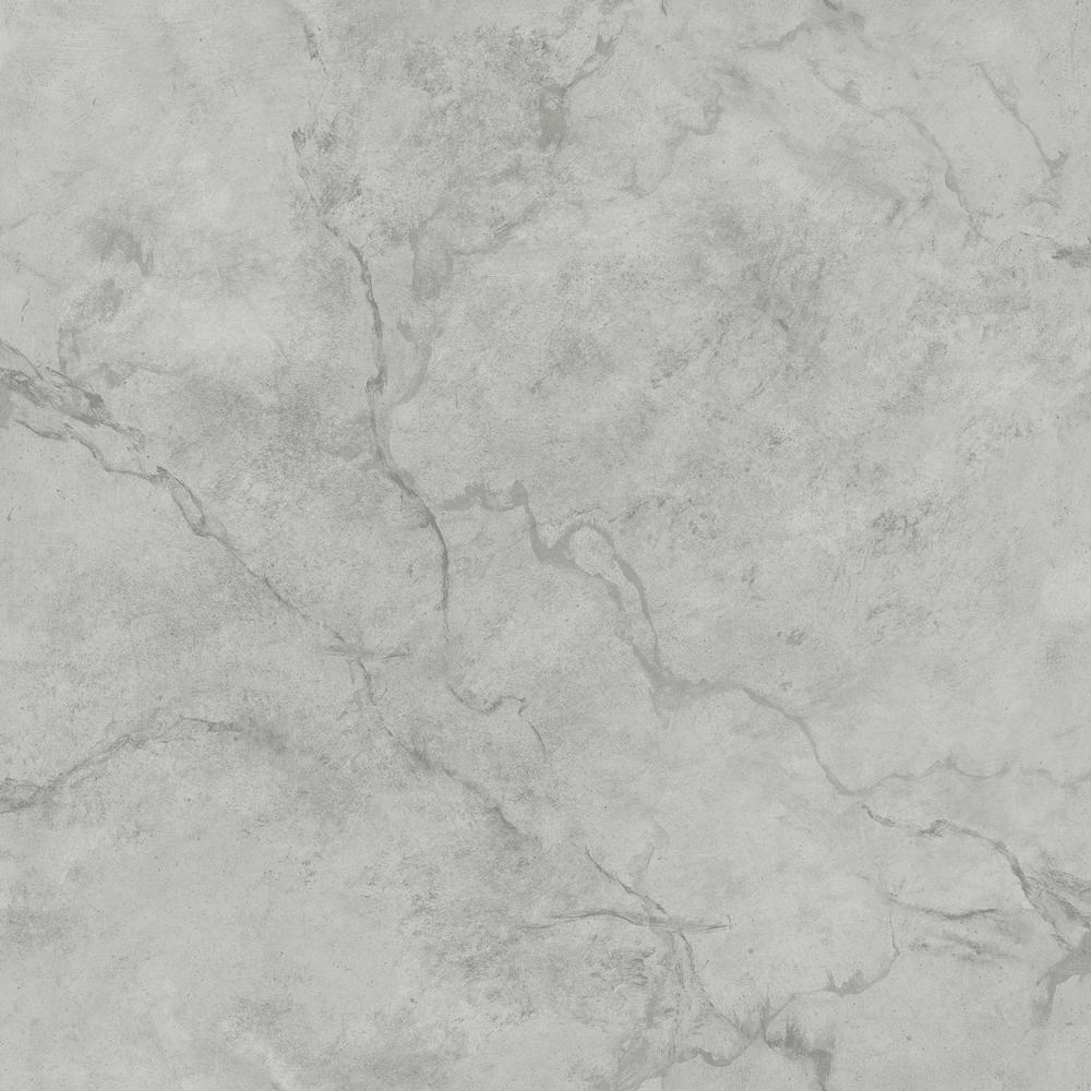 A-Street Innuendo Grey Marble Wallpaper Sample-2716