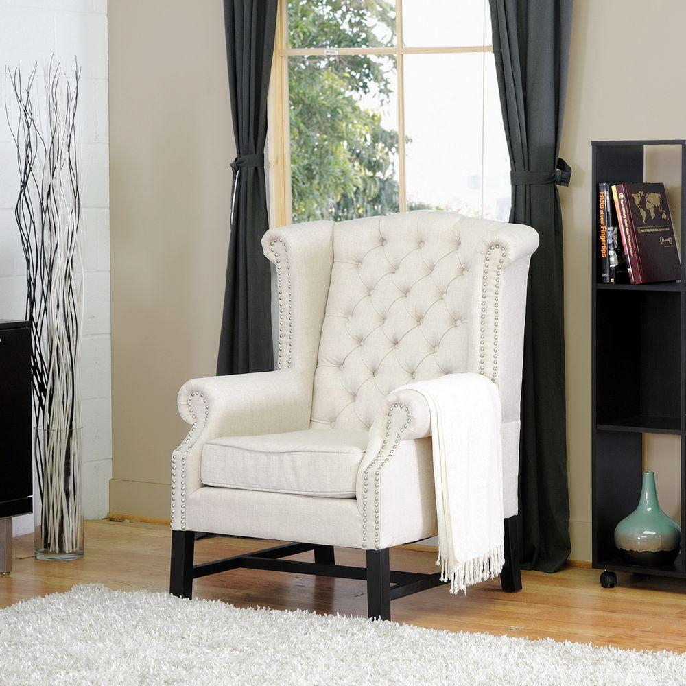 accent armchairs for living room ideas uk blue baxton studio sussex beige fabric upholstered chair 28862