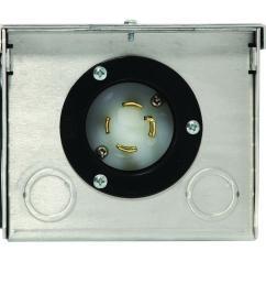 generac 30 amp raintight aluminum plug in box [ 1000 x 1000 Pixel ]
