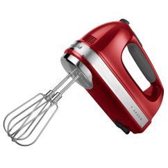 Red Kitchen Aid Mixer Glass Backsplash Kitchenaid 7 Speed Empire Hand Khm7210er The Home Depot
