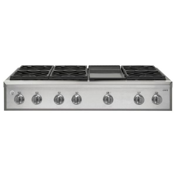 GE Gas Cooktop with Griddle