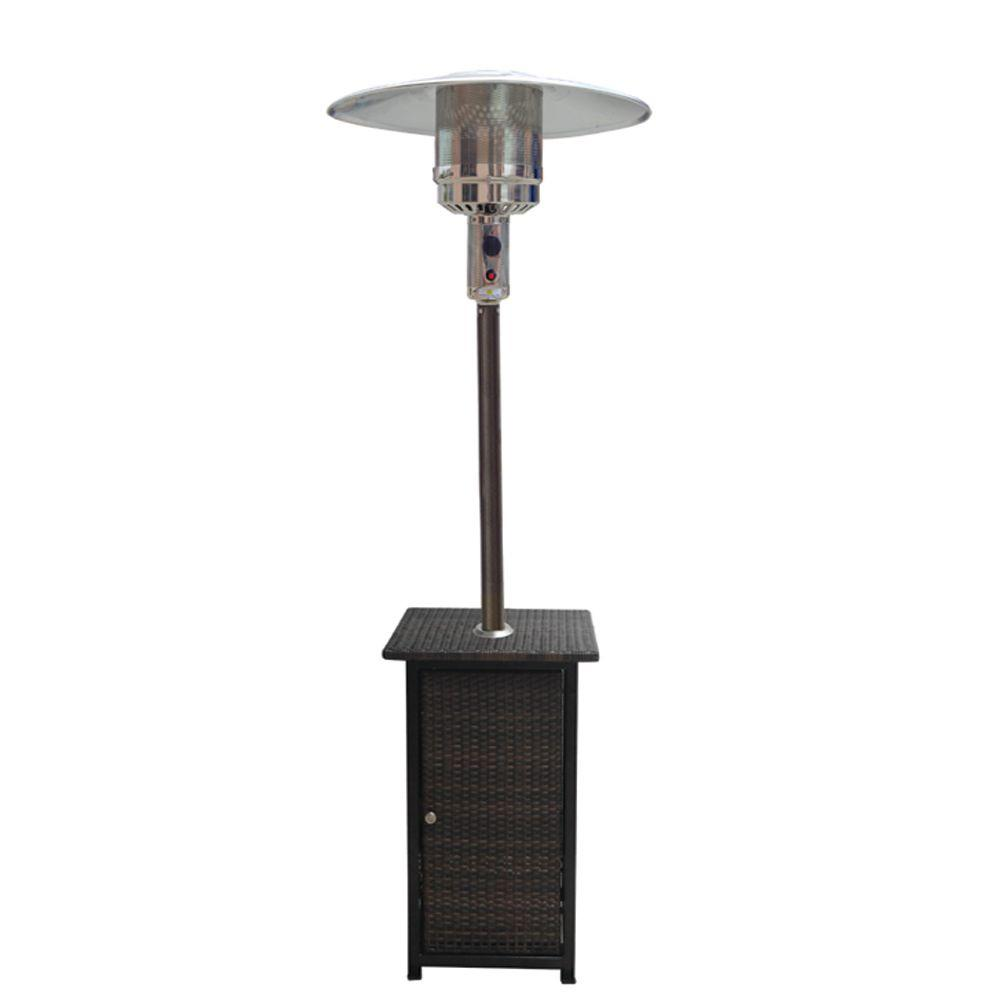 Gardensun 41000 BTU Propane Patio Heater with Woven Base