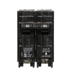 this review is from 80 amp double pole type qp circuit breaker [ 1000 x 1000 Pixel ]