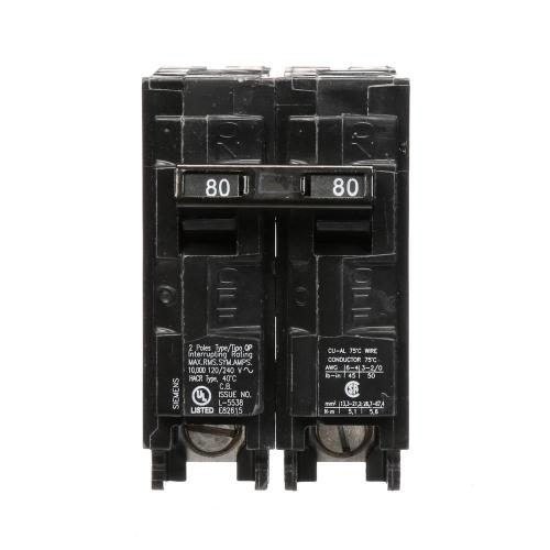 small resolution of siemens 80 amp double pole type qp circuit breaker