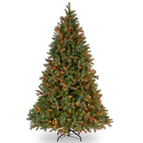 National Tree Company 10 Ft. Feel-real Downswept Douglas Fir Hinged Artificial Christmas