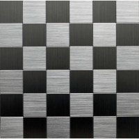 Instant Mosaic Peel and Stick Metal Wall Tile - 3 in. x 6 ...