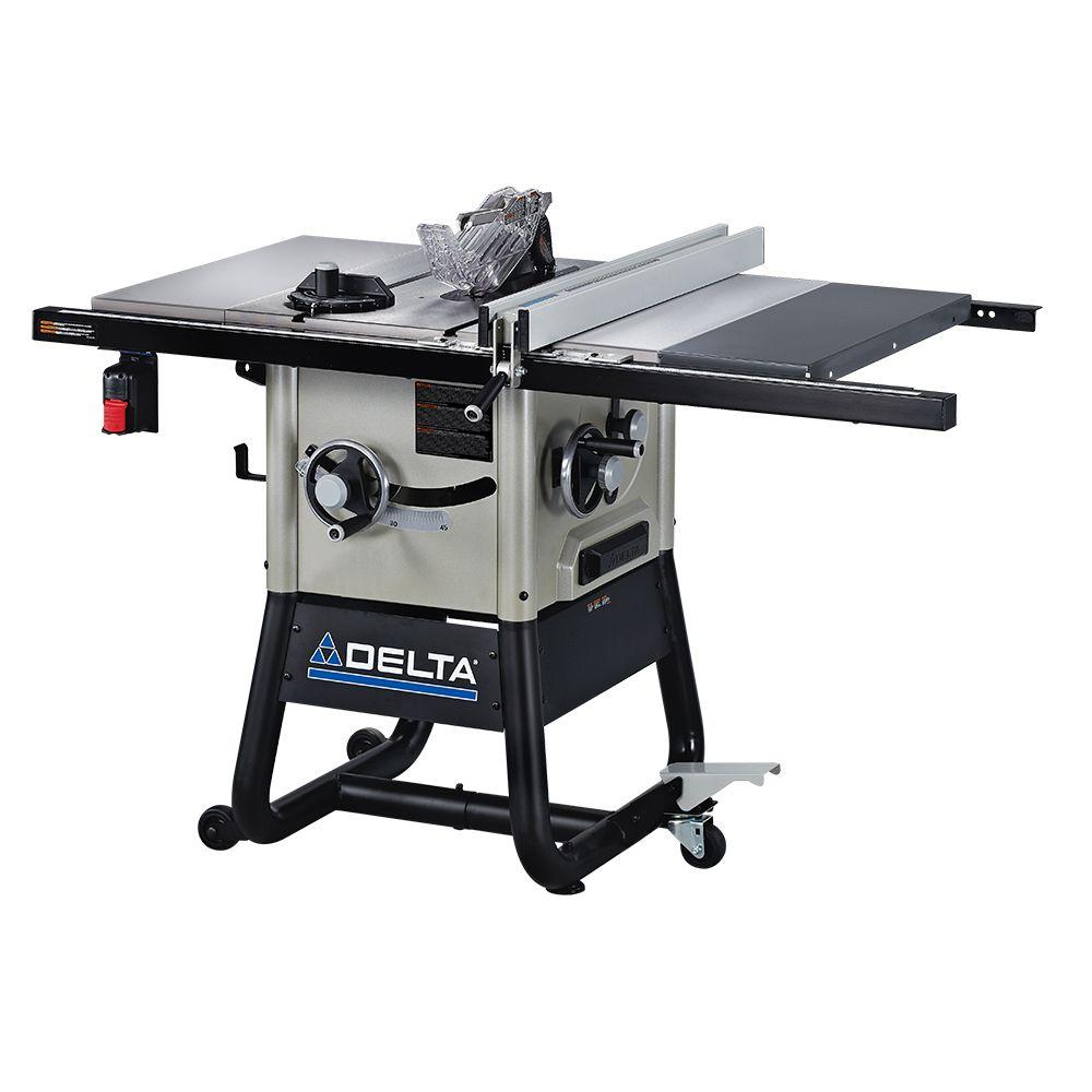hight resolution of contractor table saw with