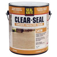 Seal-Krete 1 gal. Satin Clear Seal Concrete Protective ...