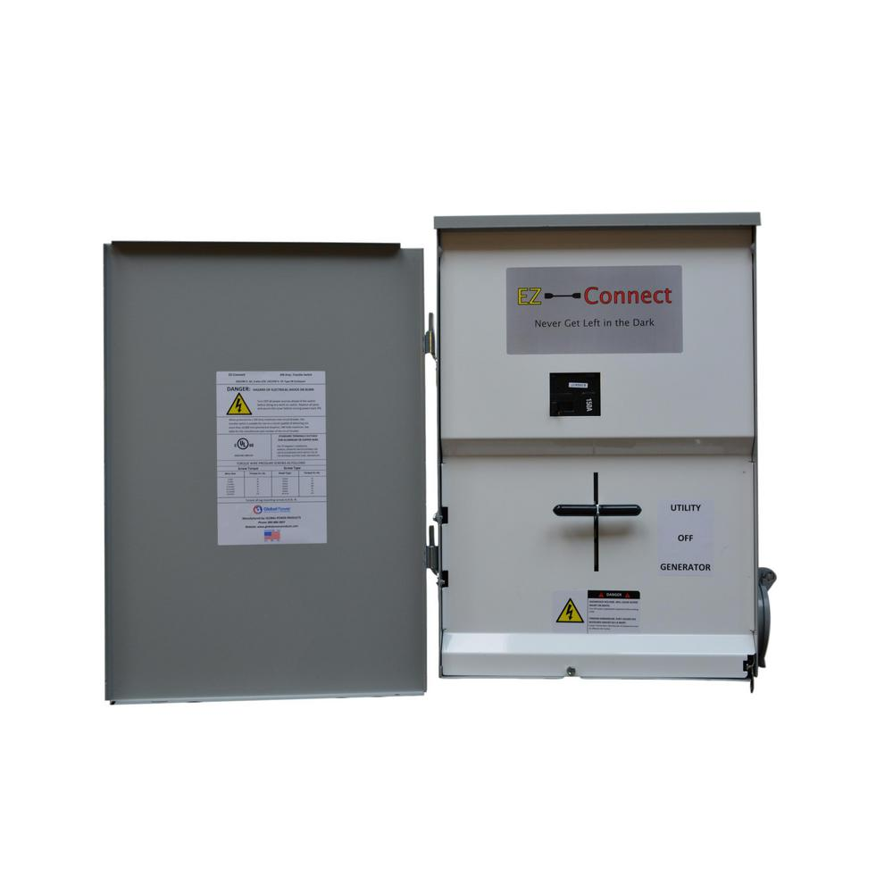 hight resolution of ez connect transfer switch 200 amp whole home with inlet for generator