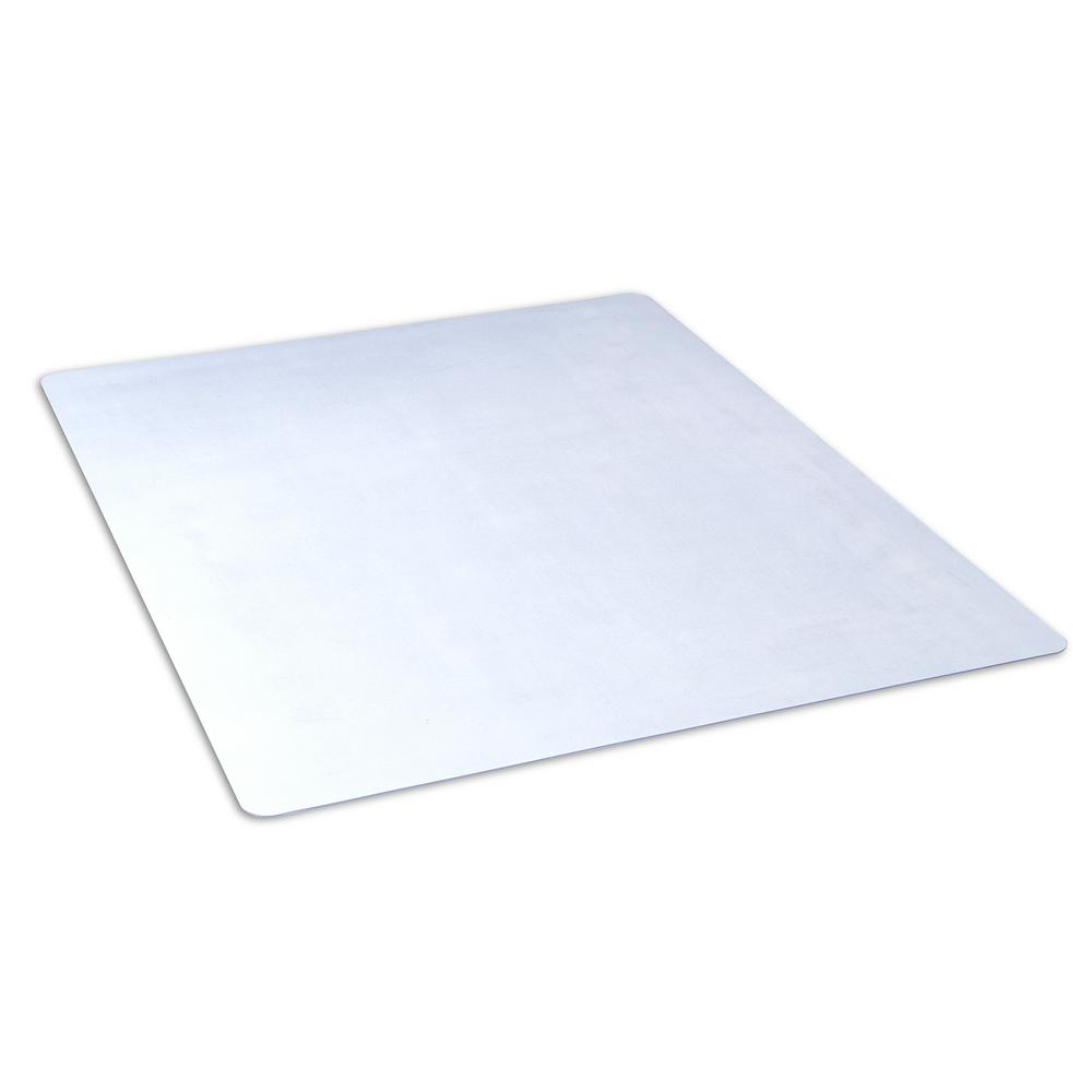 office depot chair mats chaise lounge beach dimex 46 in. x 60 clear rectangle mat for hard floors, bpa and phthalate free ...