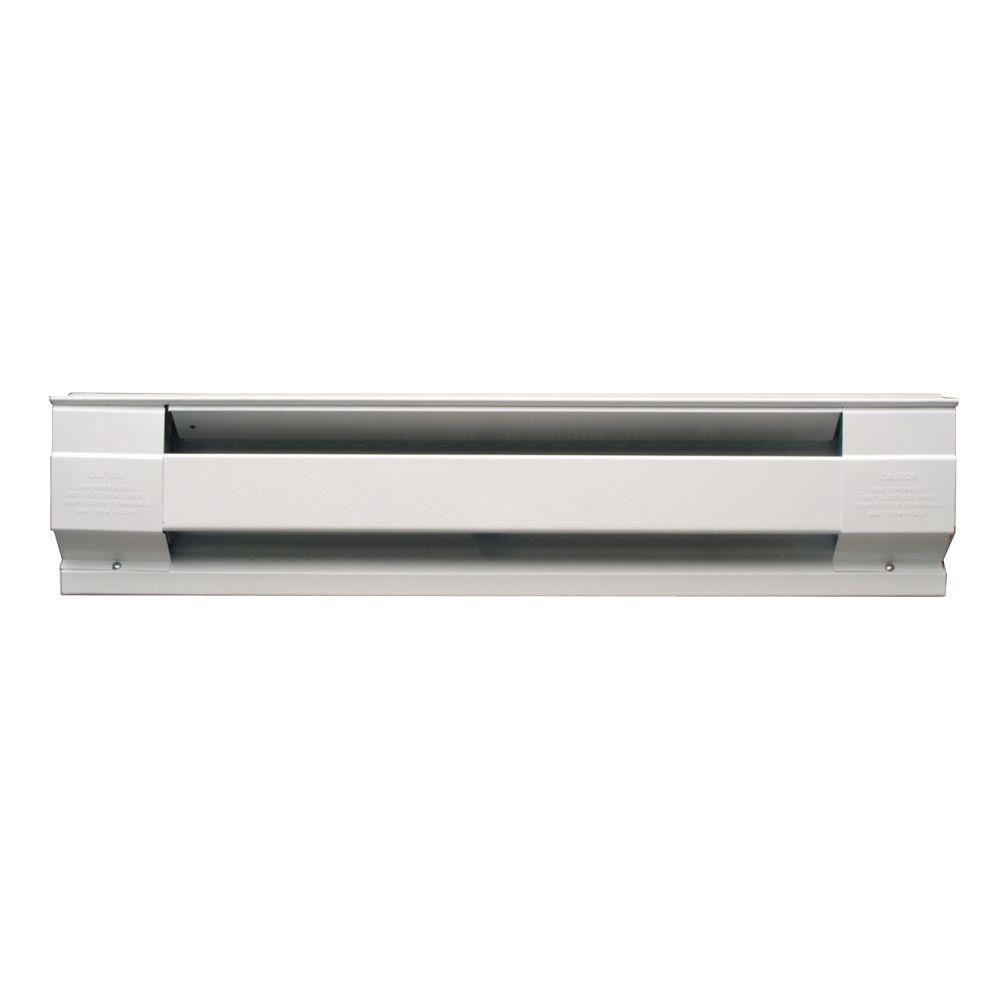 medium resolution of 72 in 1 500 watt 240 volt electric baseboard heater in white