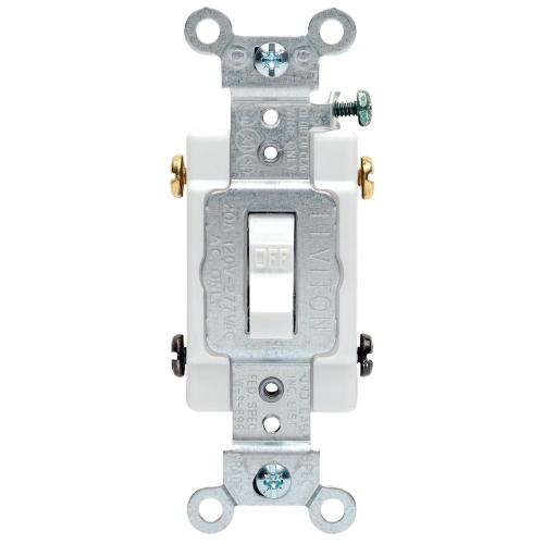 small resolution of leviton 20 amp commercial double pole toggle switch white r52 0csb2 rh homedepot com toggle switch wiring diagram wiring a toggle switch up