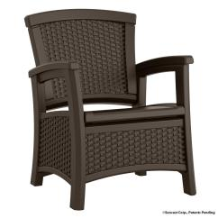 Resin Patio Lounge Chairs Swing Chair Outdoor Suncast Elements With Storage Bmcc1800