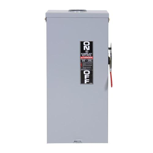 small resolution of 100 amp 240 volt fusible outdoor general duty safety switch electrical disconnects