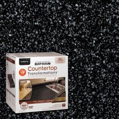 Rustoleum Kitchen Cabinet Kit Reviews Pull Down Faucet Rust-oleum Transformations 70 Oz. Charcoal Large ...