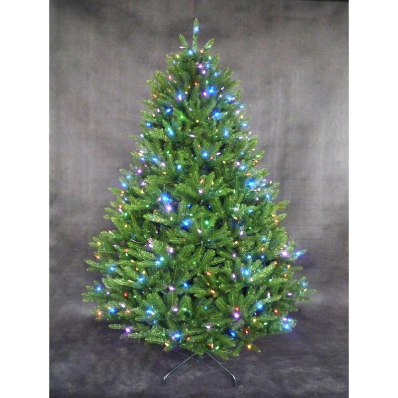 7 Ft Pre Decorated Pop Up Christmas Tree