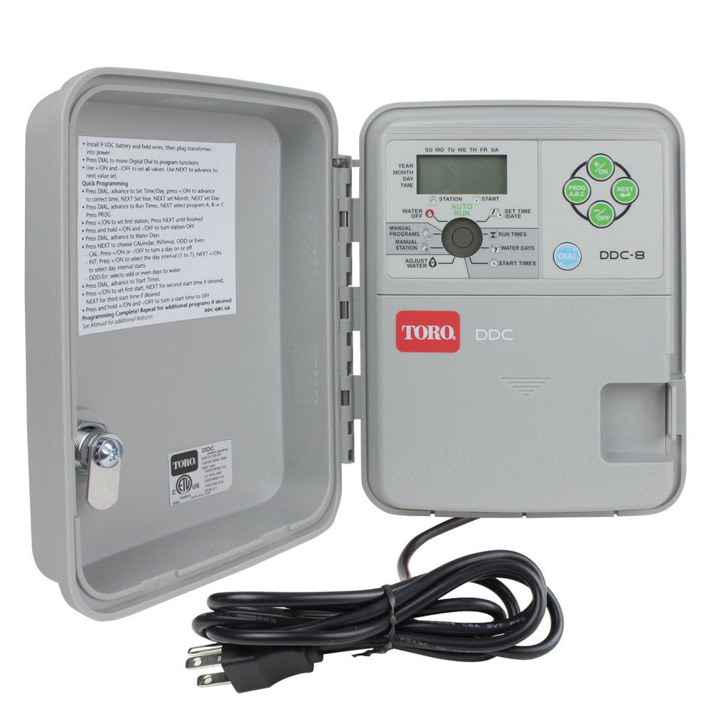 medium resolution of toro ddc indoor outdoor 8 station controller