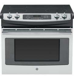 drop in electric range with self cleaning oven in stainless steel [ 1000 x 1000 Pixel ]
