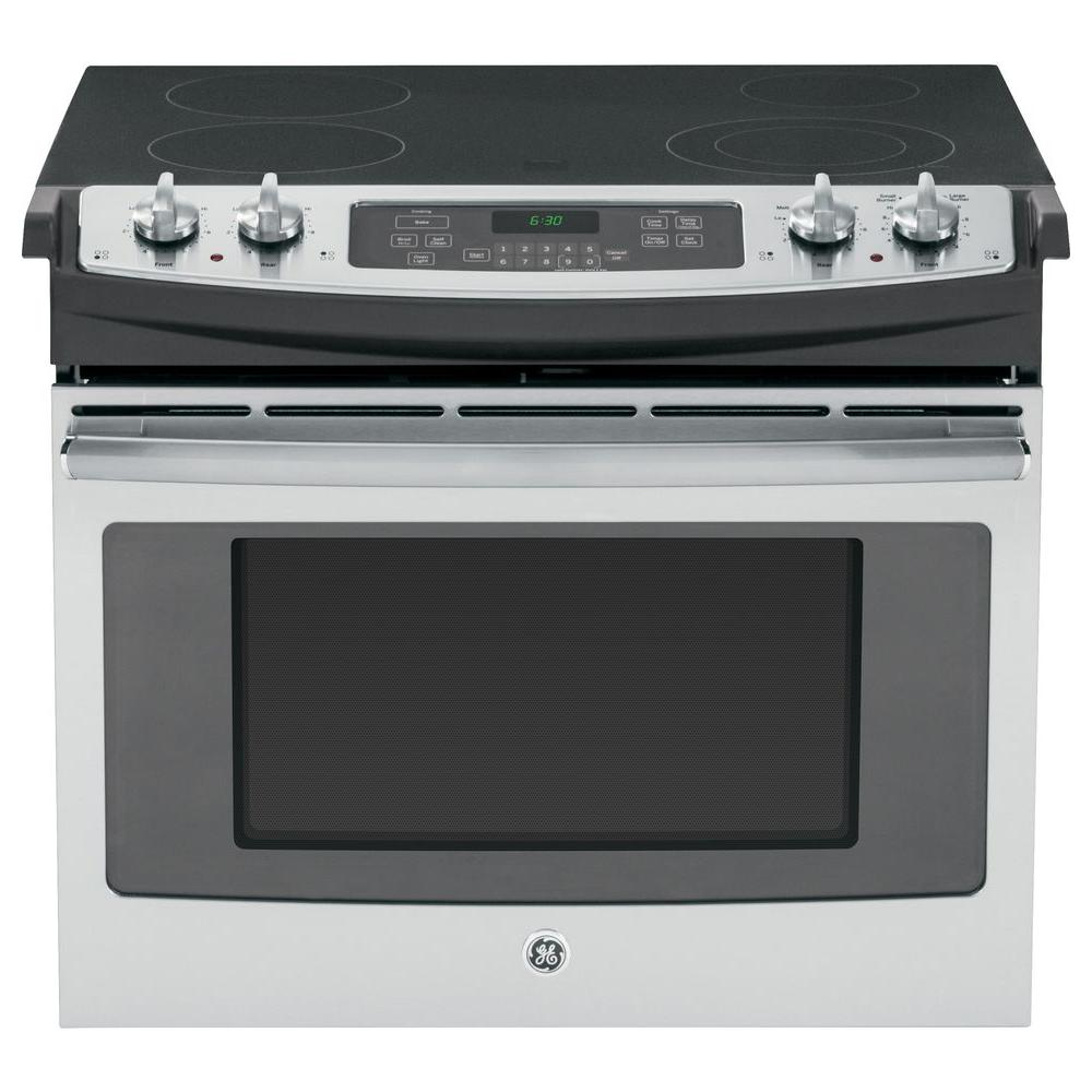 medium resolution of drop in electric range with self cleaning oven in stainless steel
