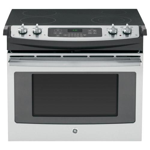 small resolution of drop in electric range with self cleaning oven in stainless steel