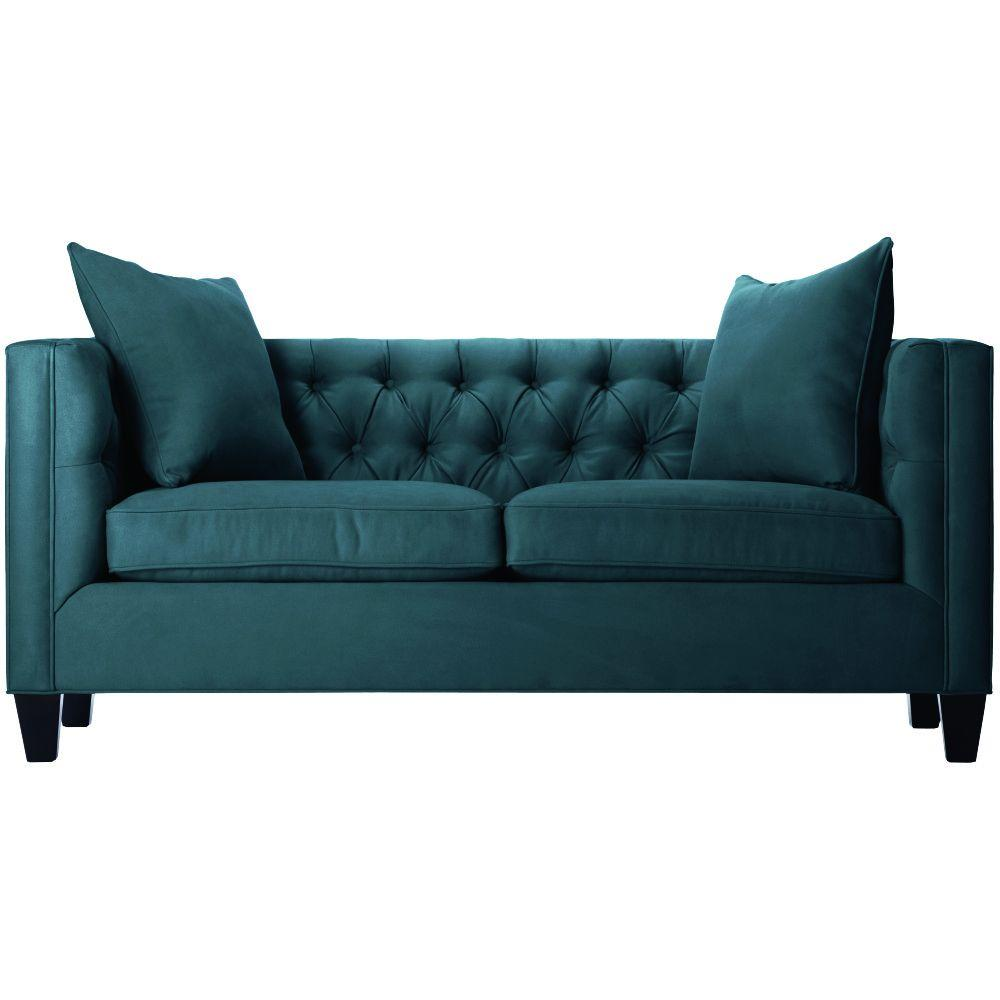 emma tufted sofa best sofas online home decorators collection lakewood 85 in beige linen 1310710870 the depot
