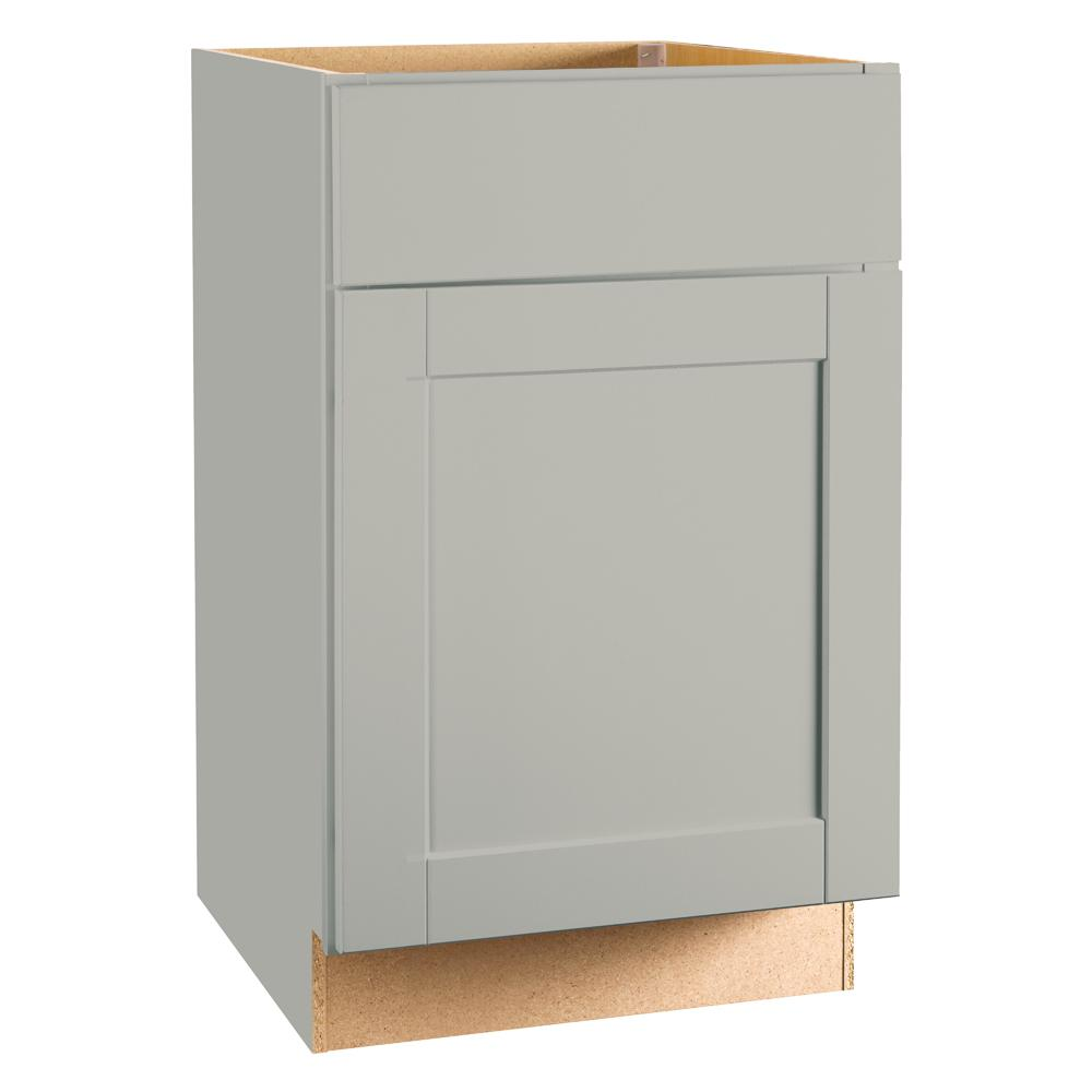hight resolution of shaker assembled 21x34 5x24 in base kitchen cabinet with ball bearing drawer