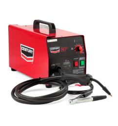 lincoln electric 70 amp 80gl wire feed flux core welder and gun with flux cored [ 1000 x 1000 Pixel ]