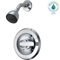Delta Classic Single-Handle 1-Spray Shower Only Faucet in ...