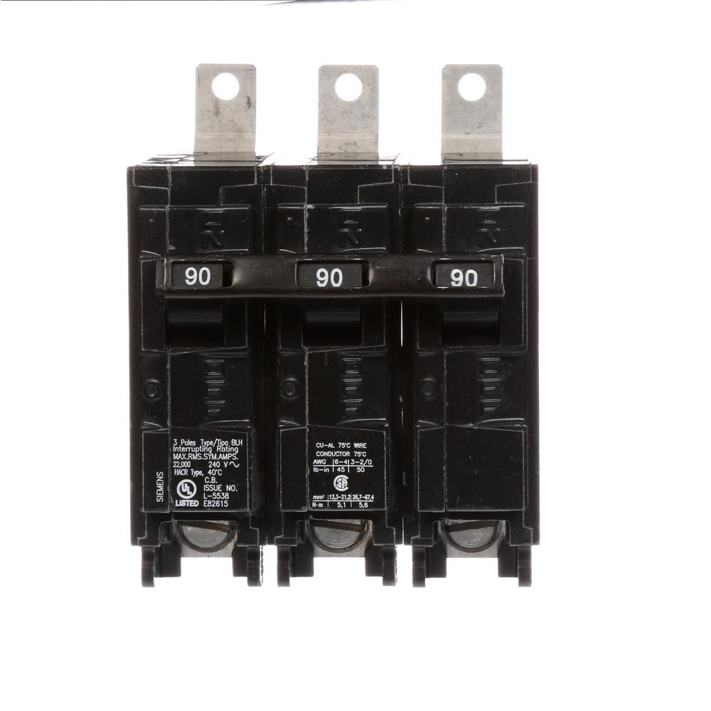 medium resolution of 220 volt wiring 3 phase 90a wiring diagram usedsiemens 90 amp 3 pole type blh 22