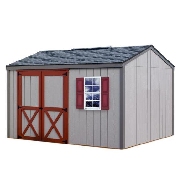 Barns Cypress 12 Ft. X 10 Wood Storage Shed Kit-cypress 1210 - Home Depot