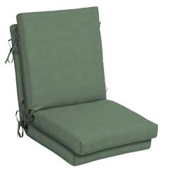 High Back Lawn Chair Cushions Hanging Wicker With Stand Hampton Bay 21 X 20 Cushionguard Surplus Outdoor Dining Cushion 2 Pack