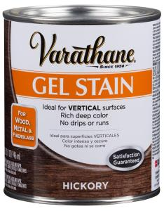Varathane qt hickory wood interior gel stain also the home depot rh homedepot
