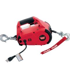110 volt ac pullzall hand held electric portable pulling and lifting tool [ 1000 x 1000 Pixel ]