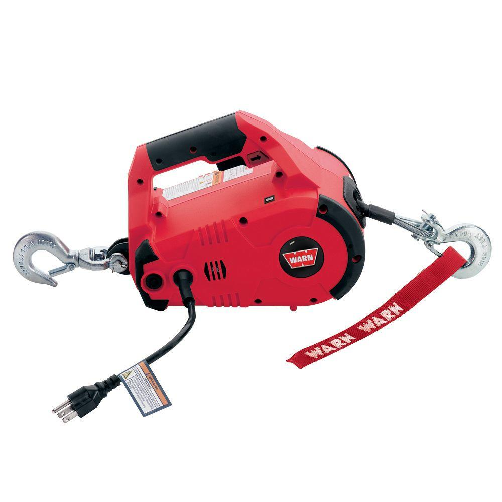 medium resolution of 110 volt ac pullzall hand held electric portable pulling and lifting tool