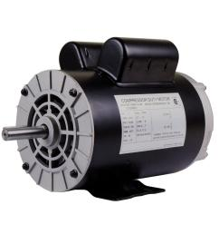 replacement 230 volt motor for husky air compressor e106006 the home depot [ 1000 x 1000 Pixel ]