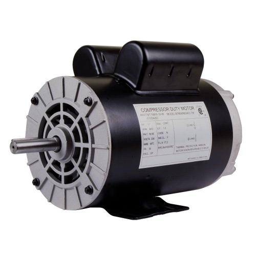 small resolution of replacement 230 volt motor for husky air compressor e106006 the home depot