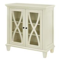 Ameriwood Home Satinwood Ivory Storage Cabinet-HD54837 ...