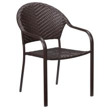 Outdoor Wicker Stacking Chairs