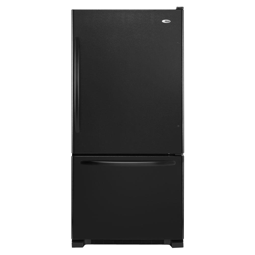 medium resolution of this review is from 22 cu ft bottom freezer refrigerator in black