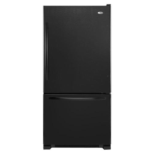 small resolution of this review is from 22 cu ft bottom freezer refrigerator in black