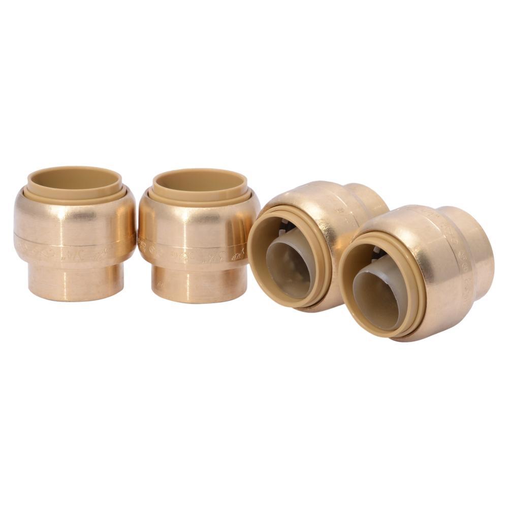 No Solder Copper Pipe Cap