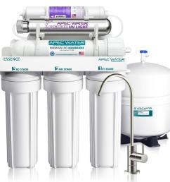 essence 75 gpd 7 stage reverse osmosis water filtration system with alkaline [ 1000 x 1000 Pixel ]