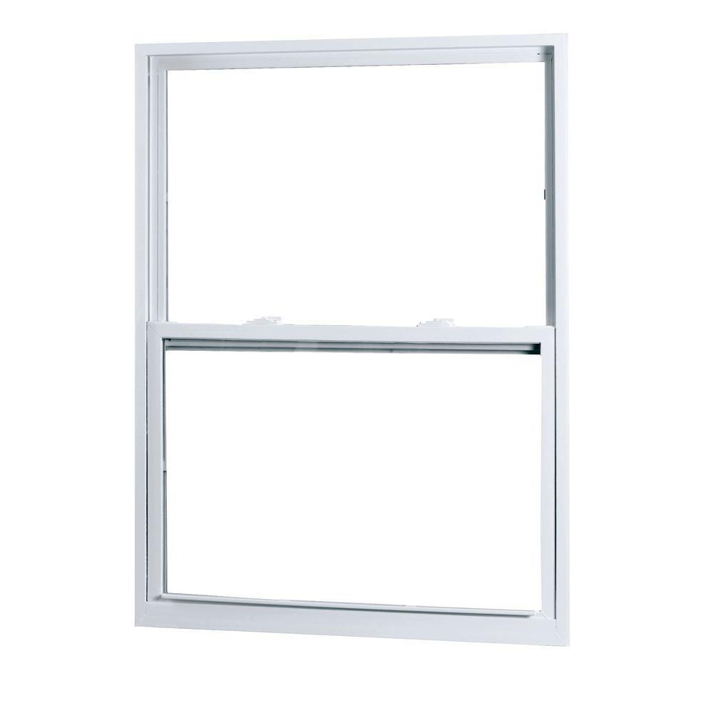 medium resolution of 50 series single hung buck vinyl window white