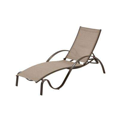 home depot lounge chairs antique cast iron outdoor sunbrella fabric commercial residential patio furniture grade aluminum brown chaise in elevation stone sling 2 pack