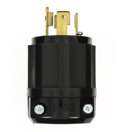 leviton 30 amp 480 volt 3 phase locking grounding plug black white rh homedepot com 277 volt wiring how to wire a 480 volt 3 phase plug [ 1000 x 1000 Pixel ]