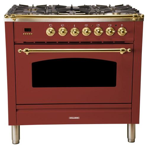 small resolution of 36 in 3 55 cu ft single oven dual fuel italian range