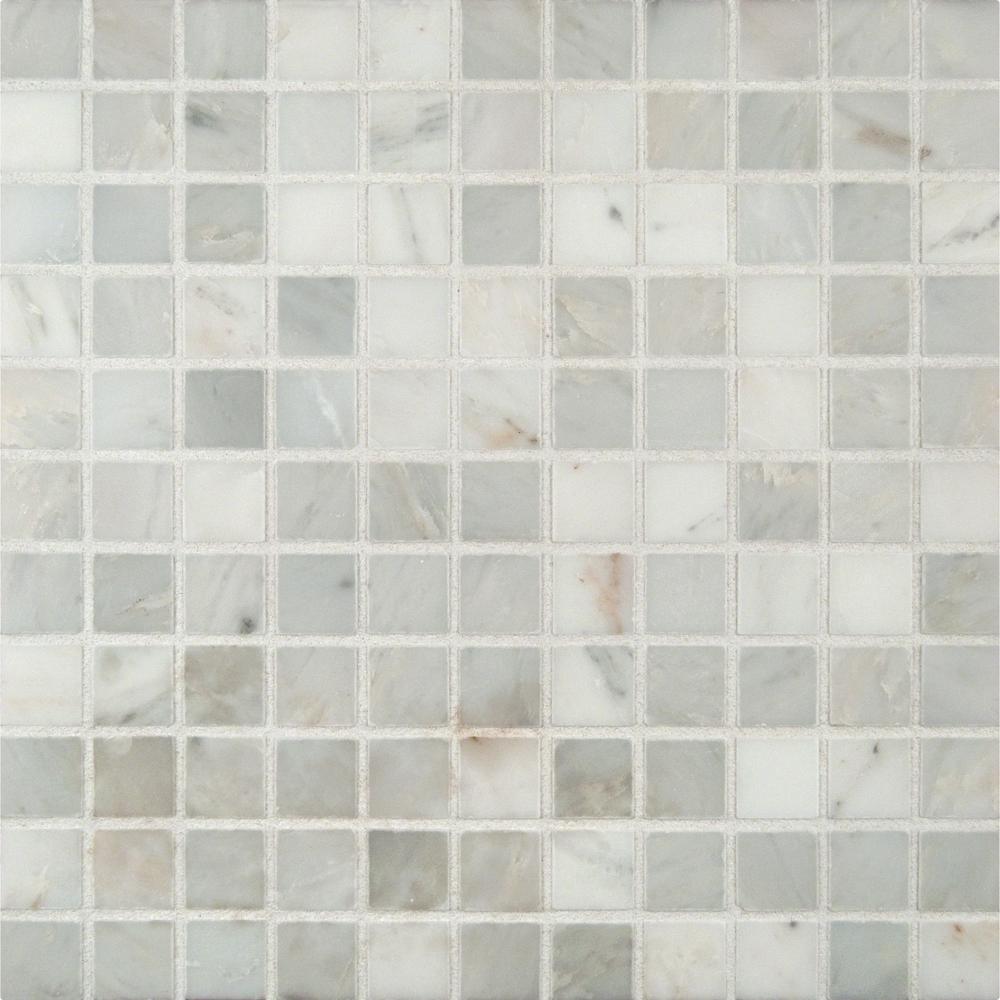 costco small kitchen appliances white faucet pull down ms international arabescato carrara 12 in. x 10 ...