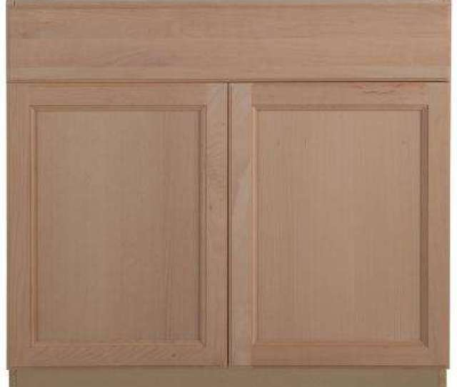 Easthaven Base Cabinet With Drawer In Unfinished German Beech