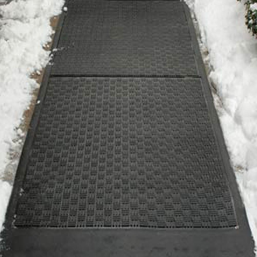 ICE AWAY SNOW MELTING MAT Electric Heated Outdoor Walkway
